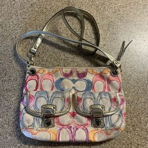 Coach Poppy Dream C Hippie Messenger Crossbody Bag